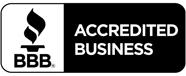 We are an accredited member of the Better Business Bureau